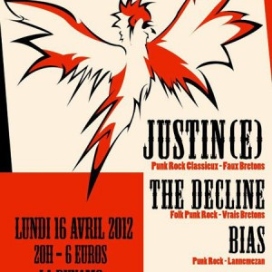 Justin(e) + The Decline! + Bias à la Dynamo