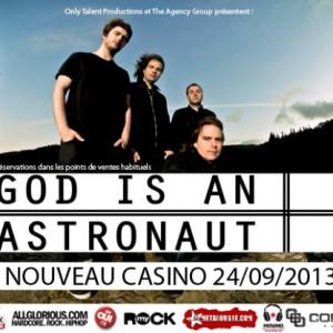 2013.09.24 - God Is An Astronaut, Nouveau Casino, Paris, France