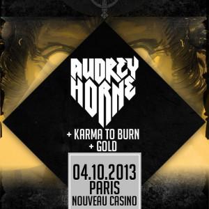 2013.10.04 - Audrey Horne + Karma To Burn, Nouveau Casino, Paris, France (2)