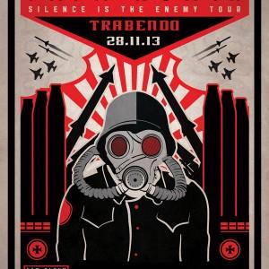 2013.11.28 - Papa Roach, Trabendo, Paris, France