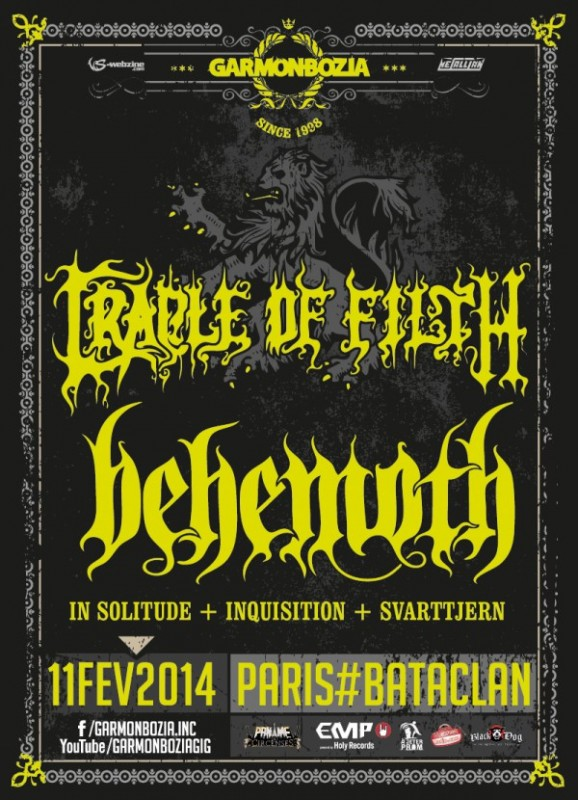 Behemoth @ Bataclan 11.02.2014