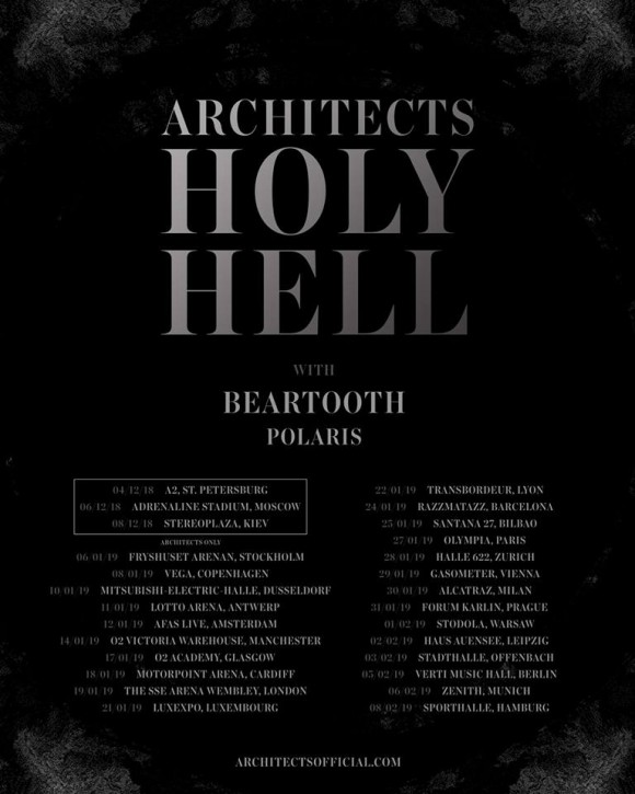 architects beartooth polaris tour 2019