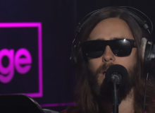 thirty seconds to mars jared leto rescue me bbc radio 1 live lounge