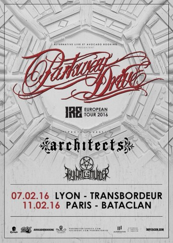 PARKWAY DRIVE FLYER